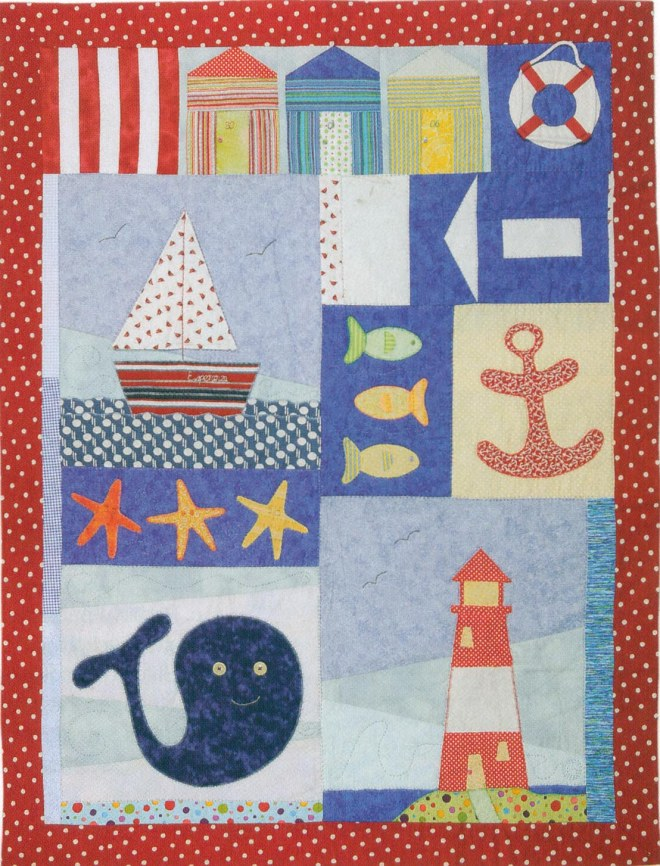 Nautical quilt p&q