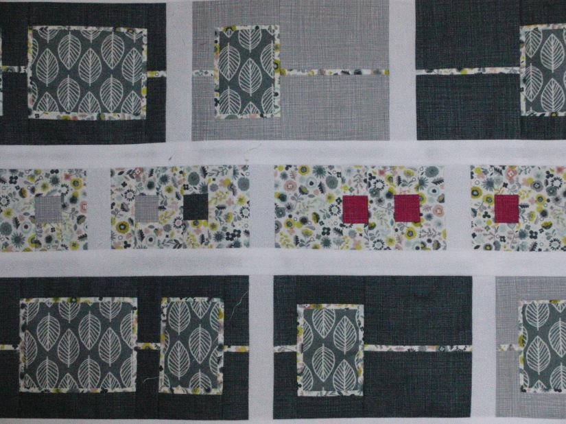 Quilt top finished – now for the border