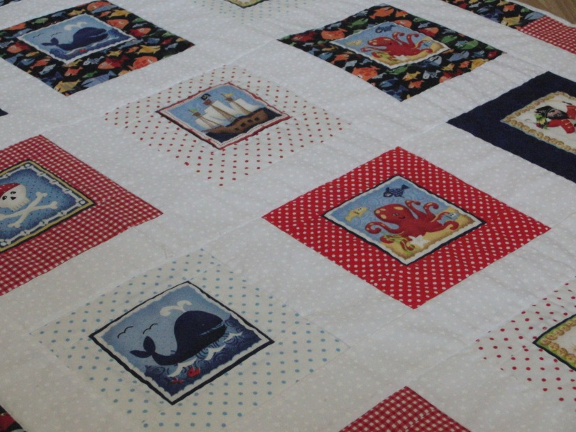 Pirates ahoy! Thy quilt is done!