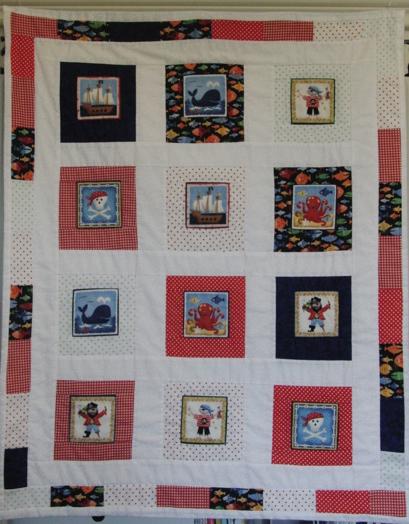 Pirate quilt – FREE PATTERN