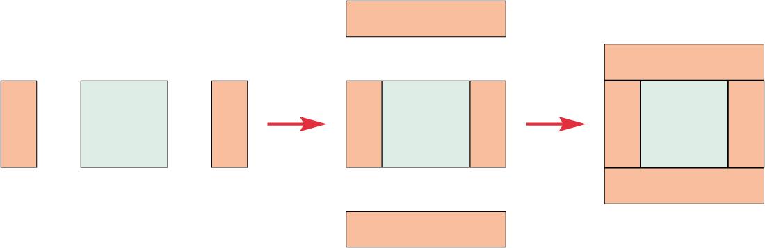 Pirate quilt - diagram 1