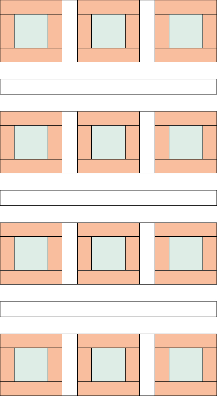 Pirate quilt - diagram 3
