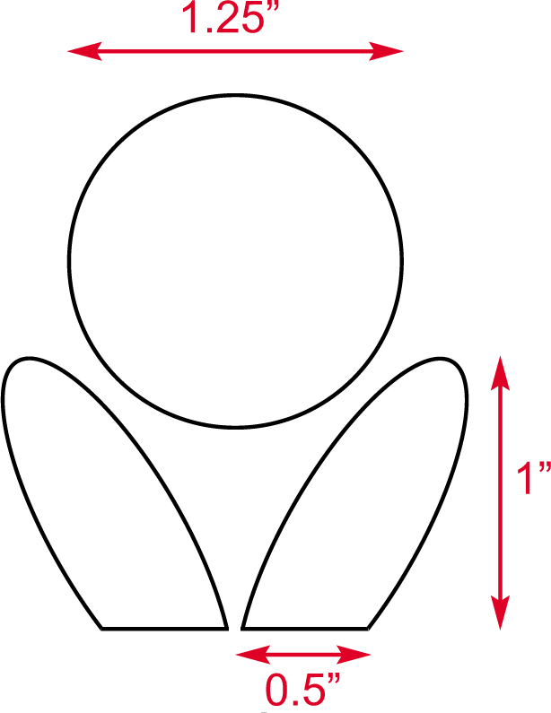 Diagram 2 - Templates for the flower