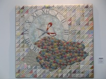 Mary Mayne - Give me the Time (winner Quilter's Guild challenge)