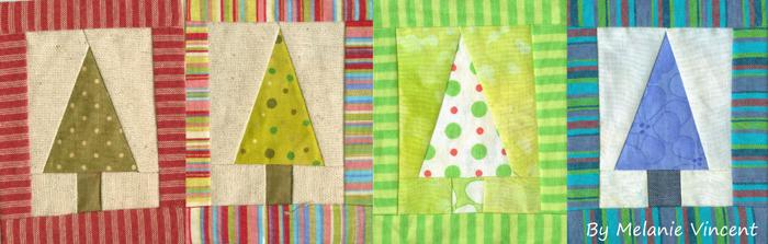 Patchwork Christmas Tree decoration – FREEPATTERN