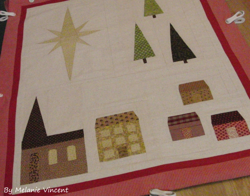 Sneaking in some hand-quilting over Christmas… willyou?