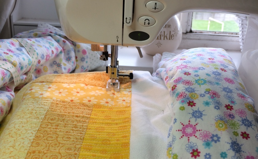 Finding solutions to my machine quilting problems…