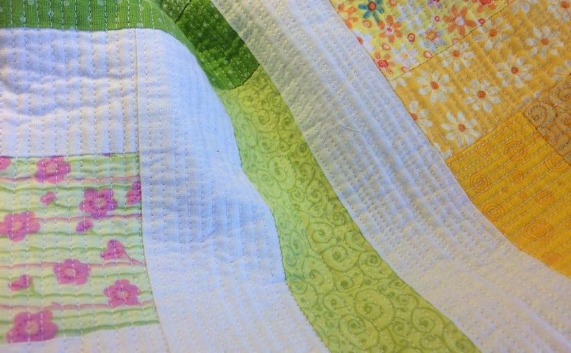 Quilting slowly… a little at a time