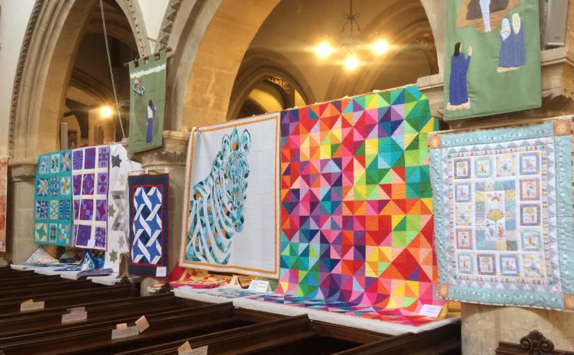 Fantastic little quilt exhibition in town